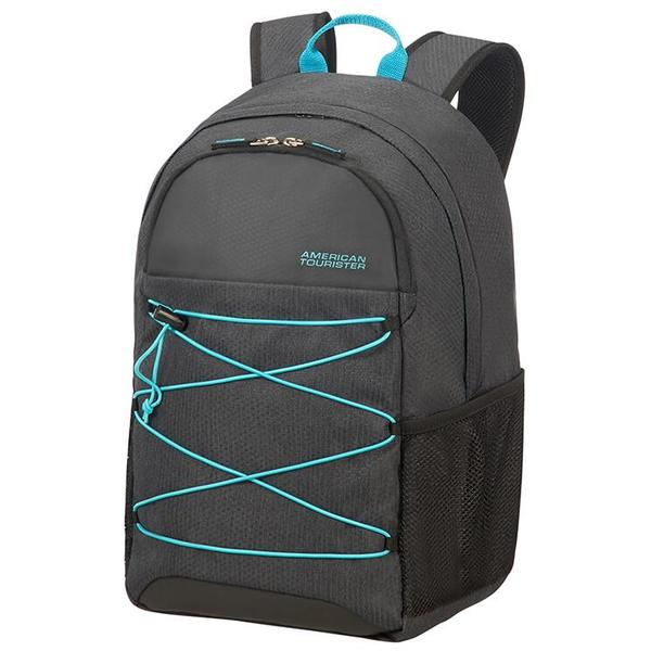 "American Tourister Road Quest Laptop Backpack M 15.6"" Graphite/Turquoise"