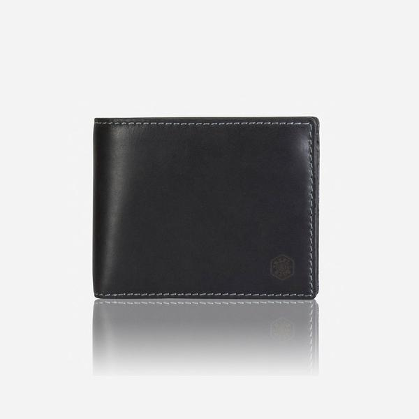 Jekyll And Hide Texas Large Billfold Wallet With Coin Black