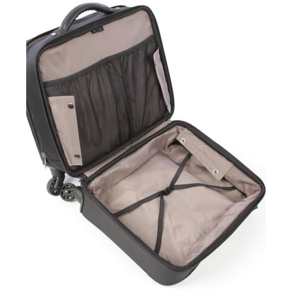 Cellini Lusso 4 Wheeled Mobile Office Trolley Case