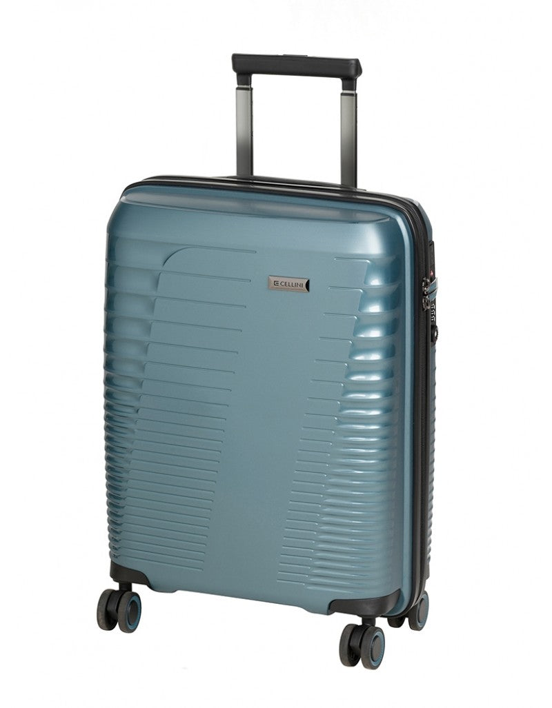 Cellini Cyber 55cm Carry On Electric Blue
