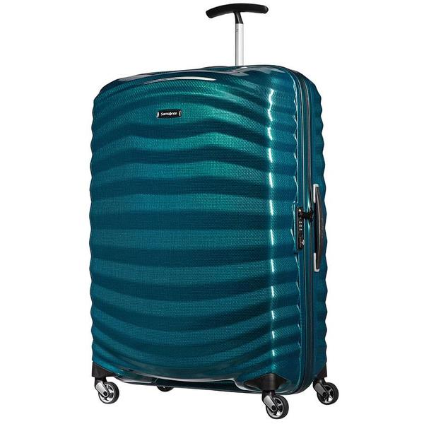 Samsonite Lite Shock 81cm Spinner Petrol Blue