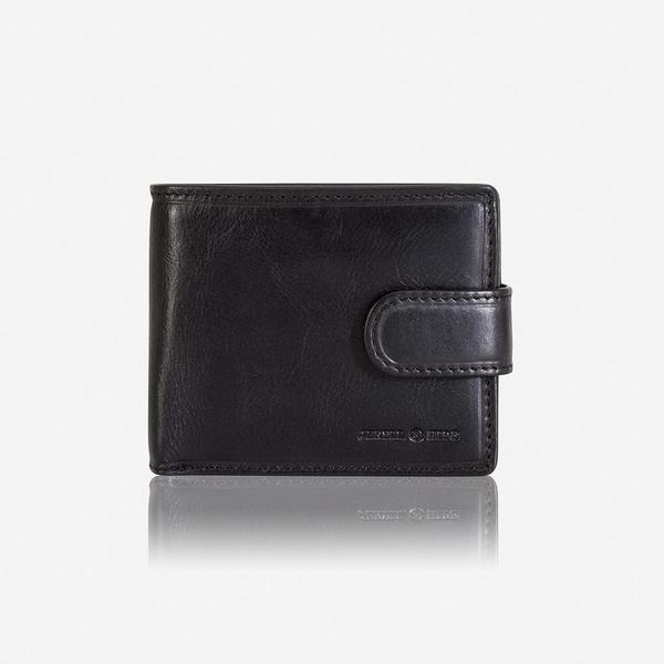 Jekyll And Hide Oxford Billfold Wallet With Coin And ID Window Black