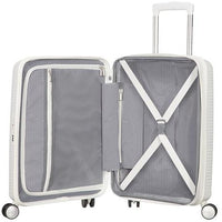 American Tourister Soundbox Expandable 77cm Pure White