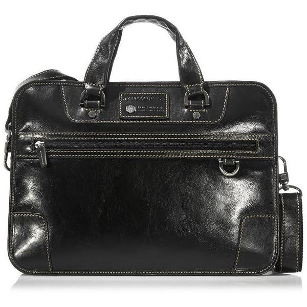Jekyll & Hide Oxford Leather Business Case | Black