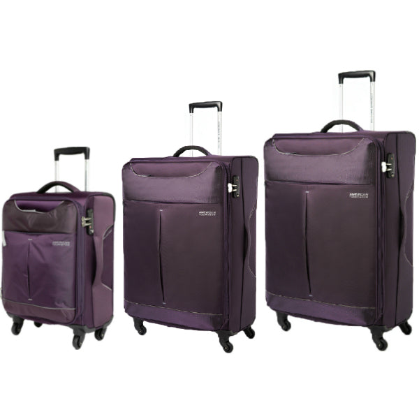 American Tourister Sky 3 Piece Set Purple