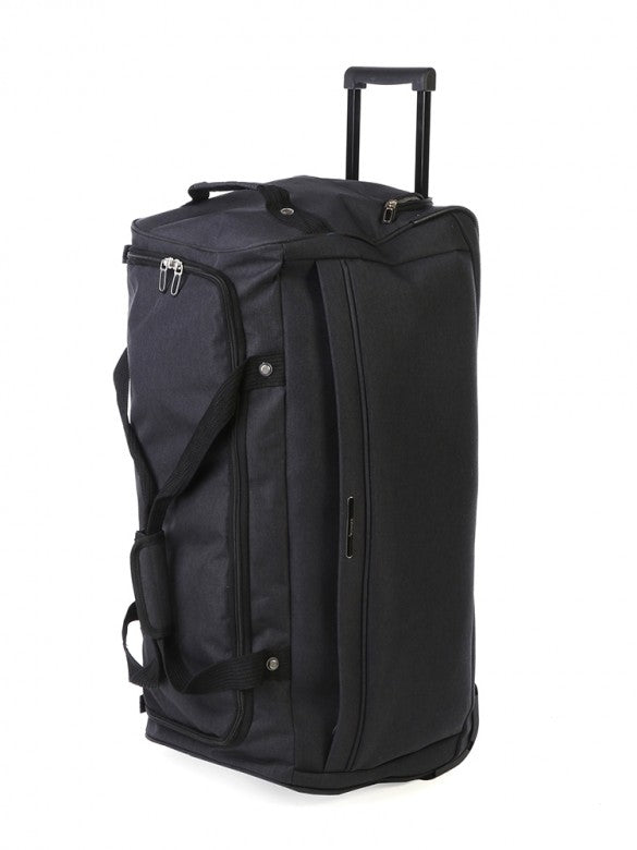 Voyager On The Go Trolley Duffle Black