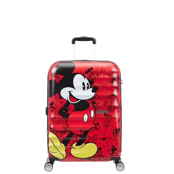 American Tourister Disney 67cm Mickey Comics Red