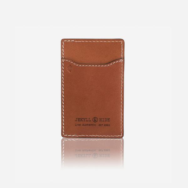 Jekyll And Hide Roma Slim Upright Card Holder Tan