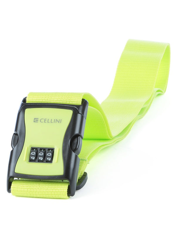 Cellini Luggage Strap Combo Lock