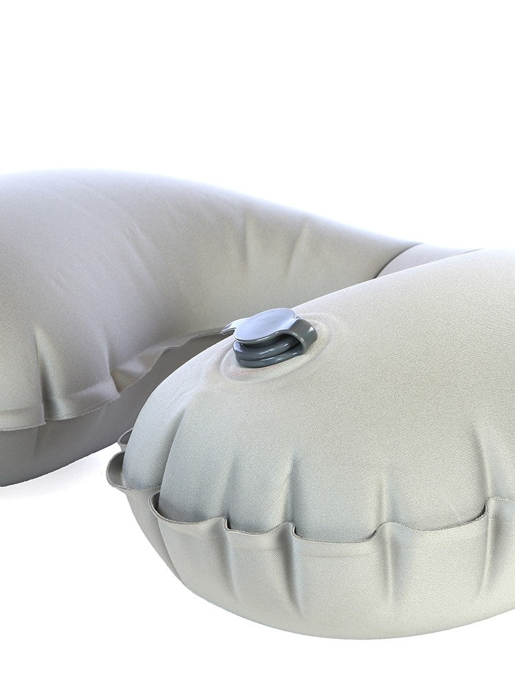 Cellini Inflatable Travel Pillow Grey