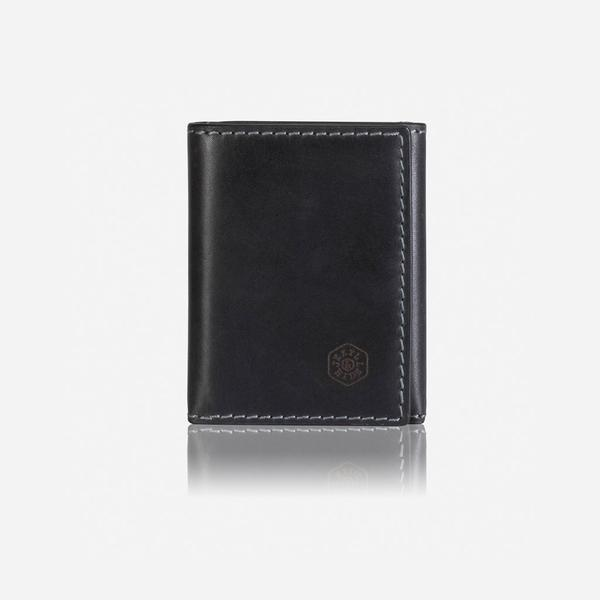 Jekyll And Hide Texas TriFold Wallet/Card Holder Black