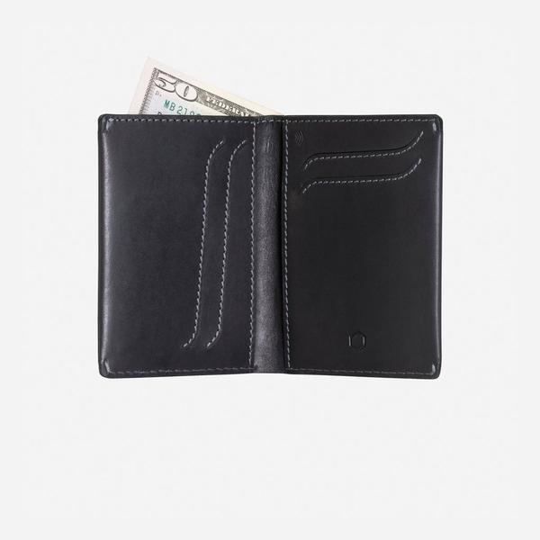 Jekyll And Hide Texas Large Billfold Wallet Black