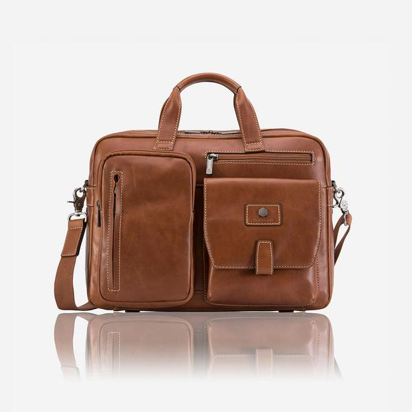 Jekyll And Hide Montana Medium Laptop Briefcase Colt