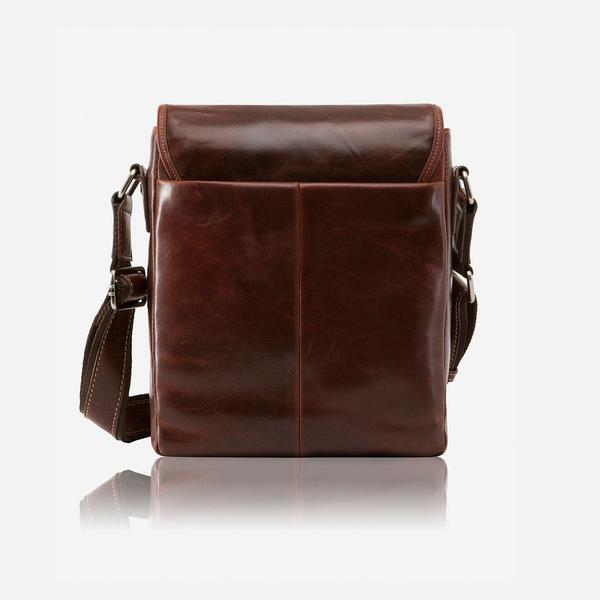 Jekyll And Hide Oxford Tablet Crossbody/Sling Bag Tobacco