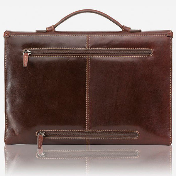 Jekyll & Hide Oxford Briefcase Brown