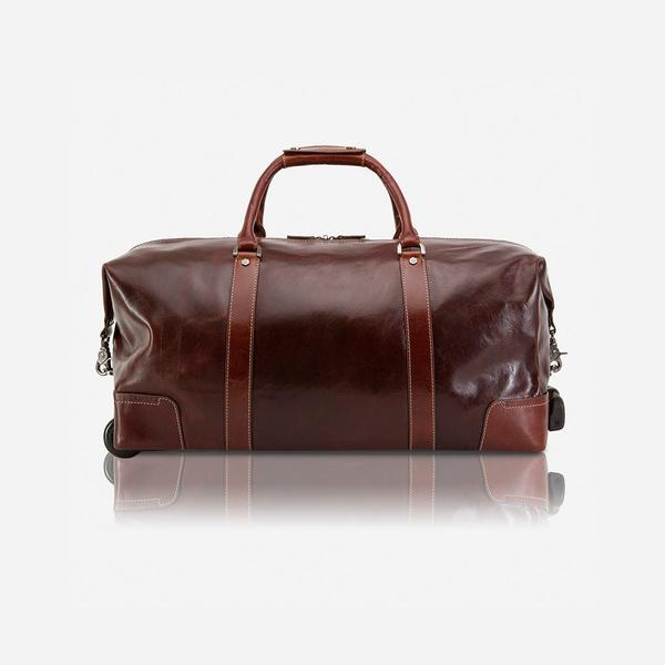 Jekyll And Hide Oxford Cabin Wheeled Holdall 55cm Tobacco