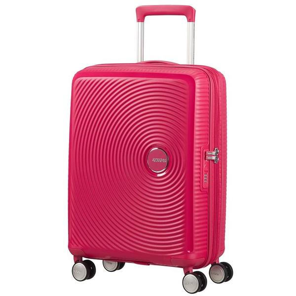 American Tourister Soundbox  Expandable 55cm Pink