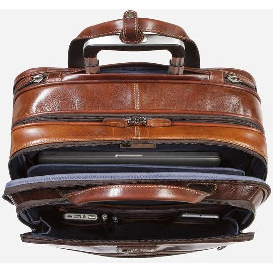 Jekyll & Hide Oxford RFID Carry on Business Trolley Tobacco