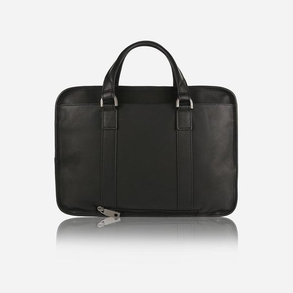 Jekyll And Hide Soho Large Double Gusset Briefcase Black