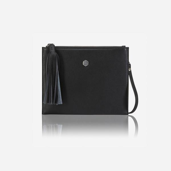 Jekyll And Hide New York Ladies Slim Crossbody/Sling Bag Black