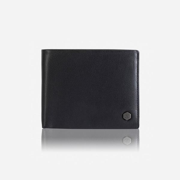 Jekyll And Hide Large Billfold With Coin Soft Black