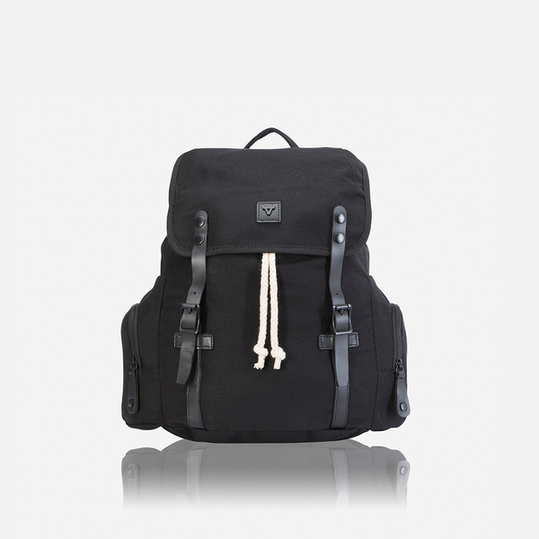 Brando Canvas Shift Everyday Backpack Black