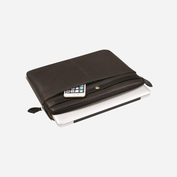 Jekyll And Hide Woodstock Medium Laptop Cover Black