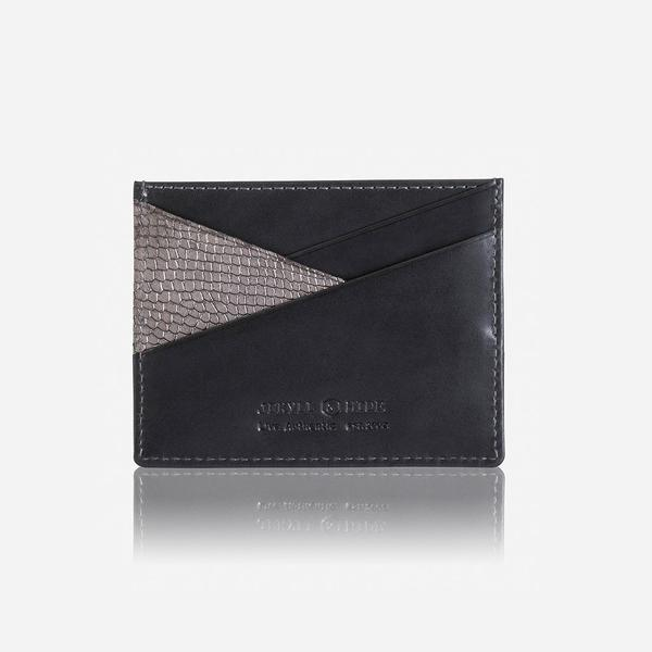 Jekyll And Hide Valencia Small Cardholder Grey