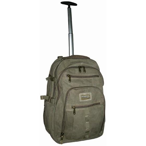 Tosca Canvas 17-Inch Laptop Business Backpack Trolley