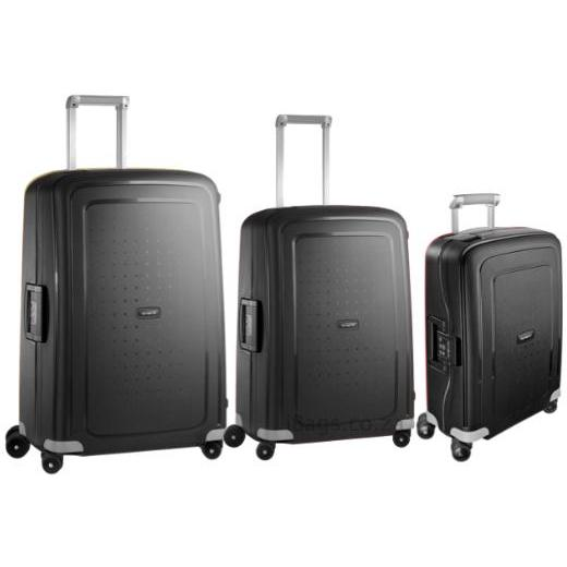 Samsonite S'Cure 3 Piece Set Black