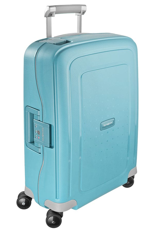 Samsonite S'Cure Spinner 55cm Aqua Blue