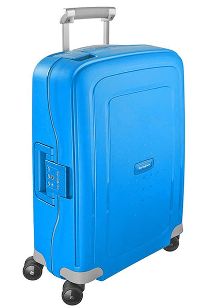 Samsonite S'Cure Spinner 55cm Pacific Blue