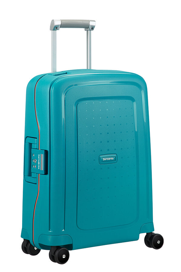 Samsonite S'Cure Spinner 55cm Caribbean Blue