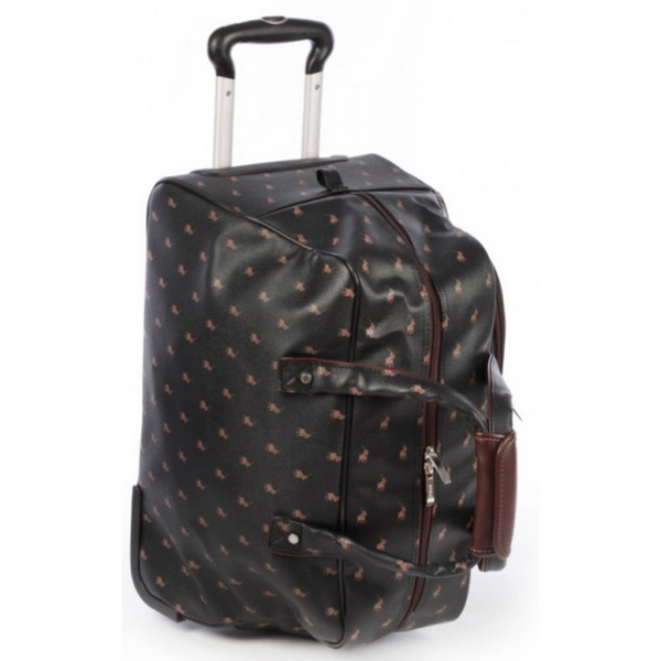 Polo Classic Rolling Carry-On Duffel Bag Black