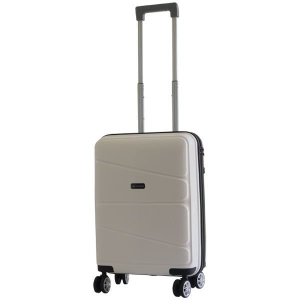 Gino De Vinci Swirl 55cm Carry On White
