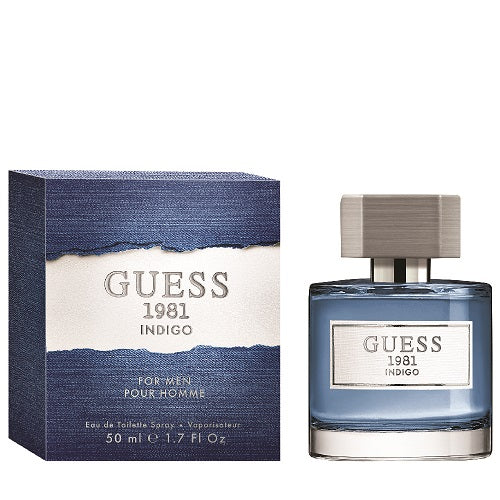 Guess  1981 Indigo For Men Eau De Toilette 50ml