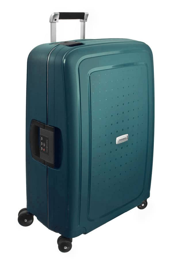 Samsonite S'Cure DLX Spinner 75cm Metallic Green