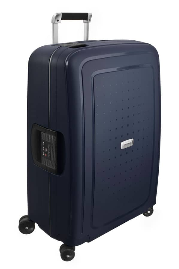 Samsonite S'Cure DLX Spinner 55cm Midnight Blue