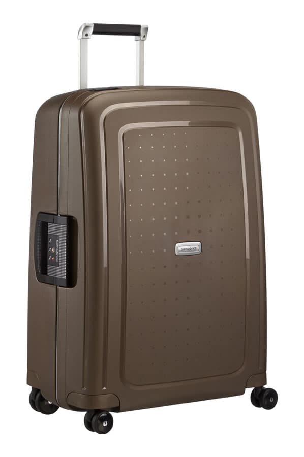 Samsonite S'Cure DLX Spinner 55cm Metallic Bronze