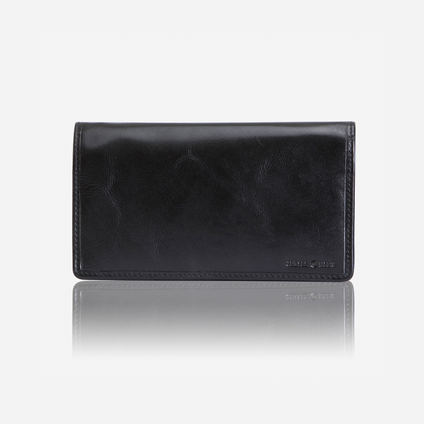Jekyll And Hide Oxford Clutch Leather Purse Black