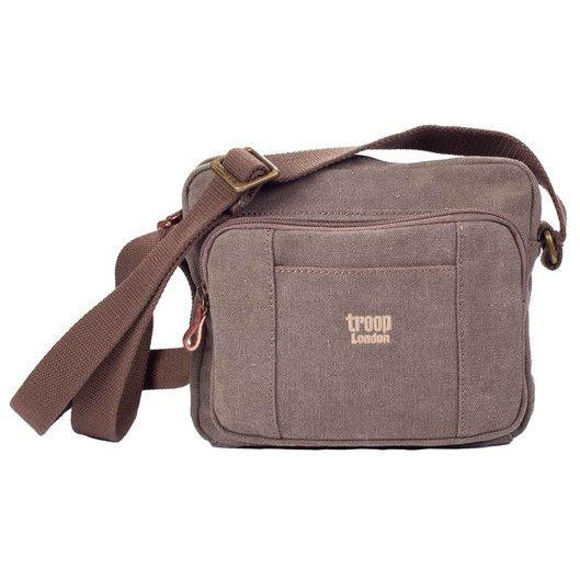Troop London Classic Body Bag Brown