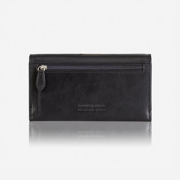 Jekyll And Hide Oxford Trifold Leather Purse Black