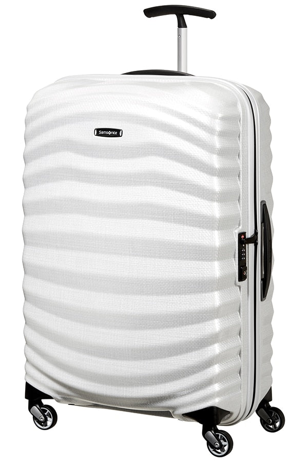 Samsonite Lite Shock 75cm Spinner Off White