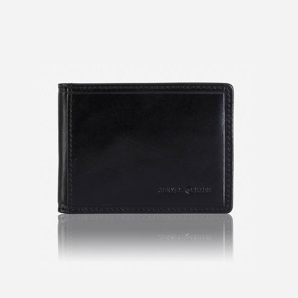 Jekyll And Hide Oxford Slim Billfold Card Holder Black