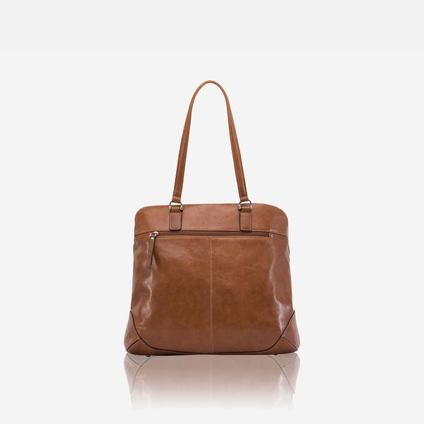 Jekyll And Hide Chelsea Medium Laptop Shopper Tote Tan