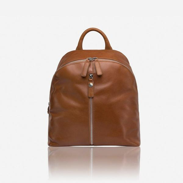 Jekyll And Hide Osaka Leather Everyday Ladies Backpack Tan