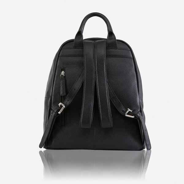 Jekyll And Hide Osaka Leather Everyday Ladies Backpack Black