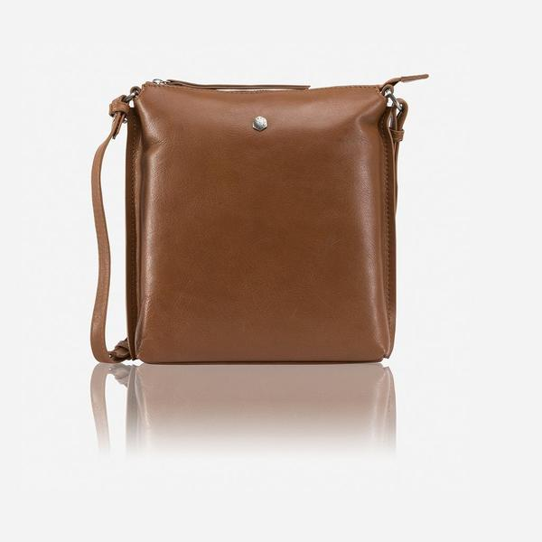 Jekyll And Hide Osaka Ladies Essentials Crossbody/Sling Bag Dark Tan