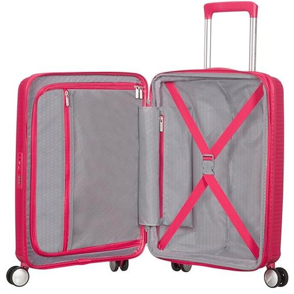 American Tourister Soundbox 3 Piece Set Pink