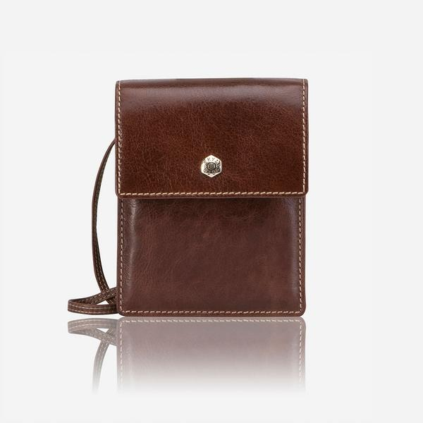 Jekyll And Hide Zulu Contemporary Leather Crossbody/Sling Bag Tan